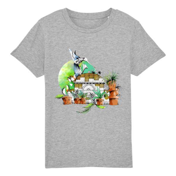 T-shirt Enfant Motif Couleur – 100% Coton Bio