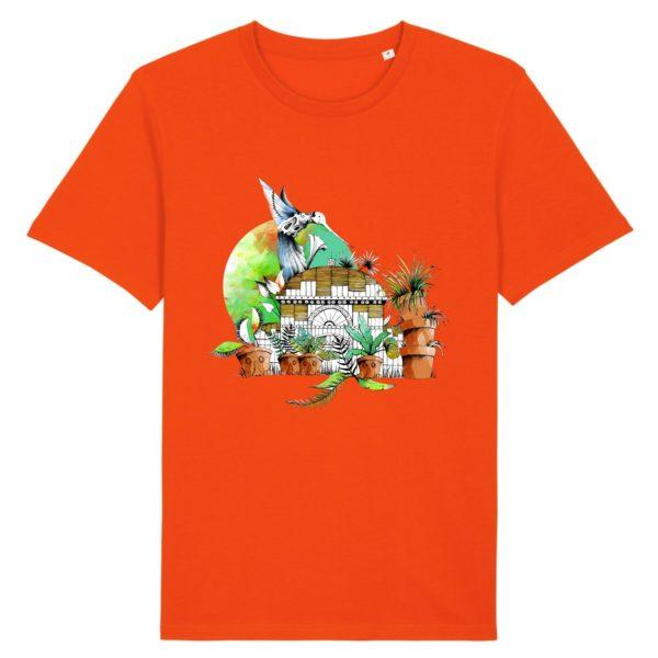 T-shirt Homme Motif Couleur – 100% Coton Bio